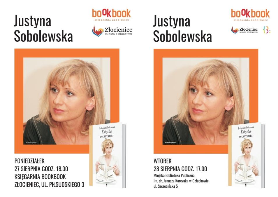 Spotkanie z Justyną Sobolewską