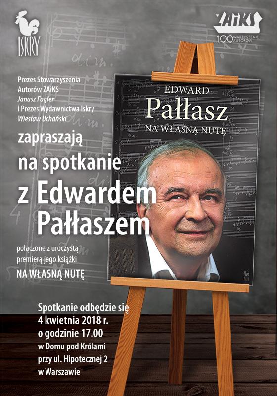 Spotkanie z Edwardem Pałłaszem